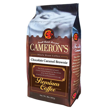 Cameron's Chocolate Caramel Brownie Whole Bean Coffee - 2 lbs ...