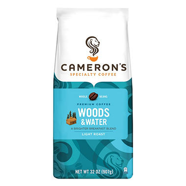 Cameron's Coffee Woods and Water Whole Bean (32 oz.)