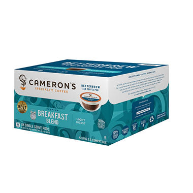 Cameron's Breakfast Blend, Single-Serve Cups (84 ct.)