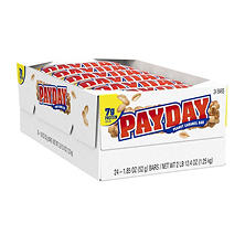 PAYDAY Peanut Caramel Bars (1.85 oz., 24 ct.)