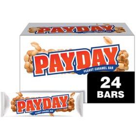 Payday Peanut Caramel Bars (1.85 oz., 24 ct.)