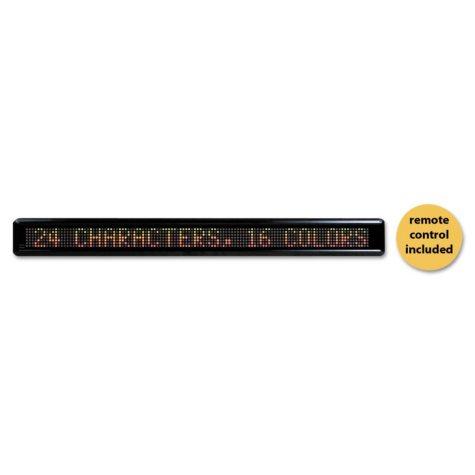 Headline LED Electronic Moving Message Sign, 39-1/2 x 1-7/8 x 4-1/2