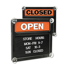 Open/Closed Changeable Message Sign
