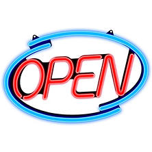 Newon - LED Multi-Color Open Sign