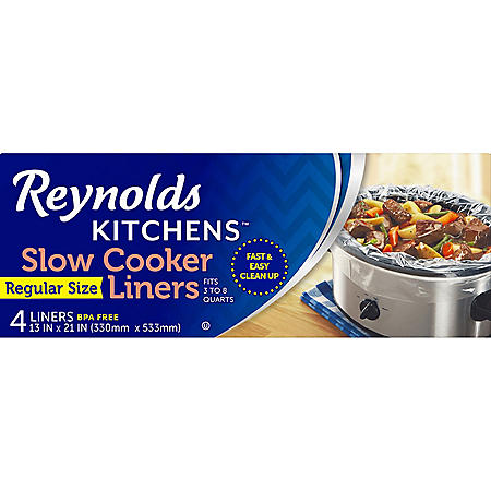 Reynolds Slow Cooker Liners ( 4 ct.) 1 box