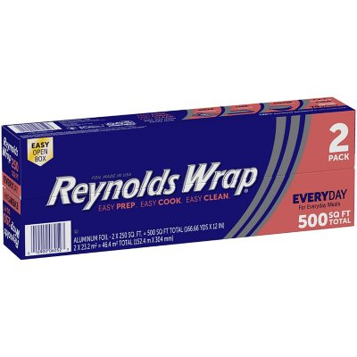 Aluminum Foil & Plastic Wrap