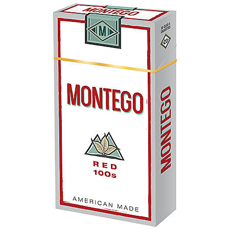 Montego Red 100s Box (20 ct. 10 pk.)