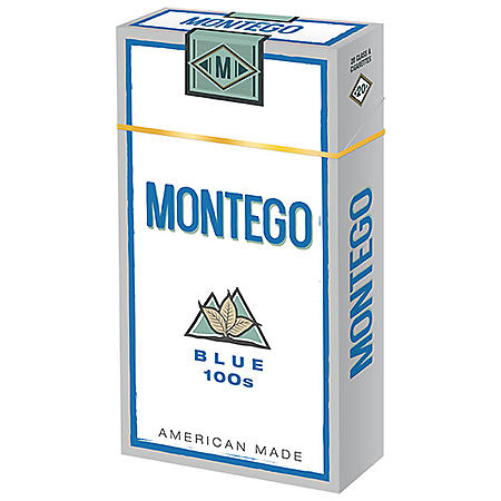 Montego Blue 100s Box  (20 ct., 10 pk.)