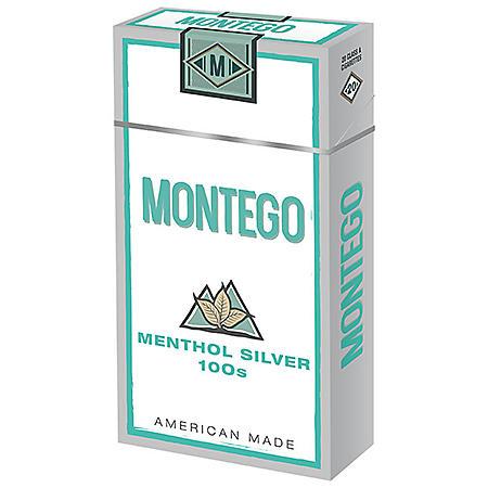 Montego Menthol Silver 100s Box (20 ct., 10 pk.)