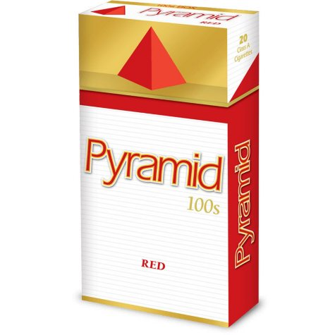 Pyramid Red 100s Box 1 Carton