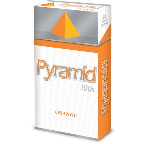 Pyramid  Orange 100s Box 1 Carton