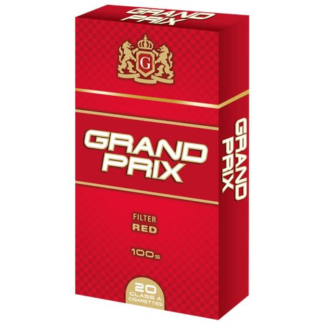 Grand Prix Red 100s Box (20 ct., 10 pk.)