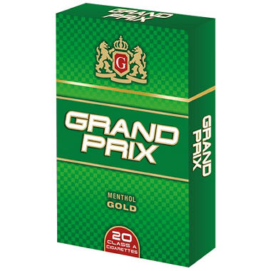 Grand Prix Gold Menthol King Box 1 Carton