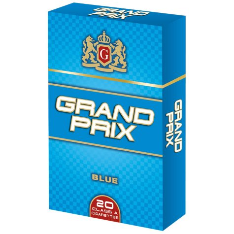 Grand Prix Blue King Box 1 Carton