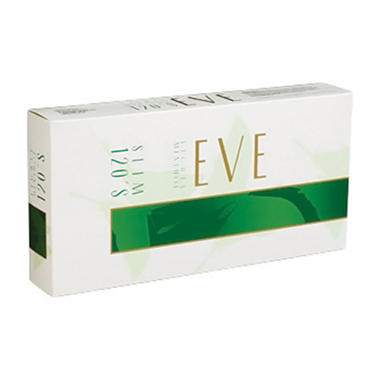 Eve Menthol Emerald Box 120's (20 ct., 10 pk.)