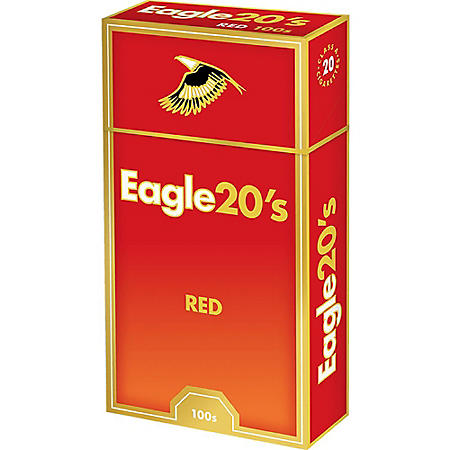 Eagle 20's Red 100s Box (20 ct., 10 pk.)