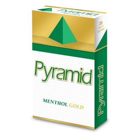 Pyramid Menthol Gold Kings Box (20 ct., 10 pk.)