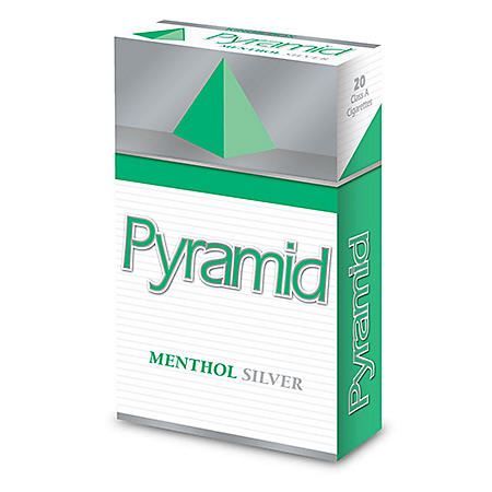 Pyramid Menthol Silver Kings Box (20 ct., 10 pk.)