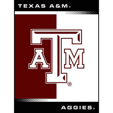 College Oversized Blanket - Texas A&M