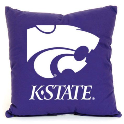 College Floor Pillow - Kansas State