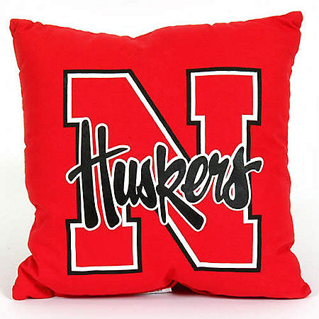 College Floor Pillow - Nebraska