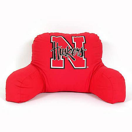 College Bedrest Pillow - Nebraska