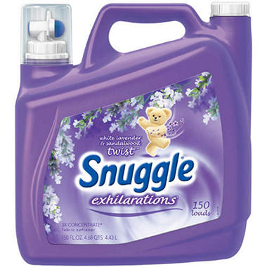 Snuggle® Exhilarations® Fabric Softener - 150oz