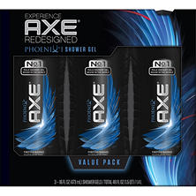 AXE Revitalizing Shower Gel, Phoenix or Apollo (16 fl. oz., 3 pk.)