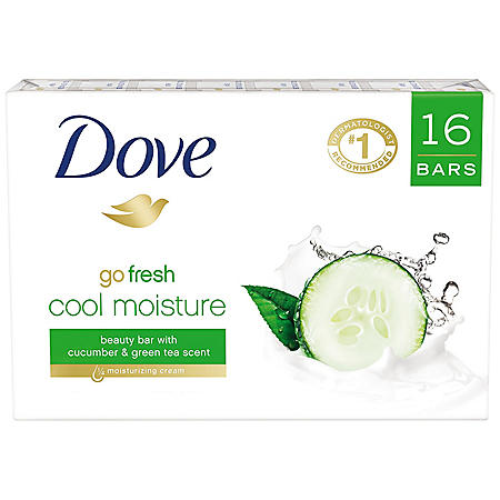 Dove Go Fresh Cool Moisture Beauty Bar (4 oz., 16 ct.)