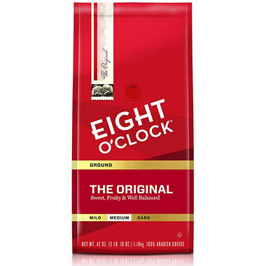 Eight O'Clock Original Ground Coffee (42 oz.)