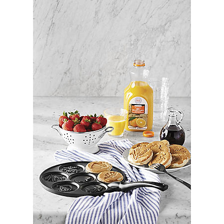 Nordic Ware Mini Pancake Pan (Assorted Styles)