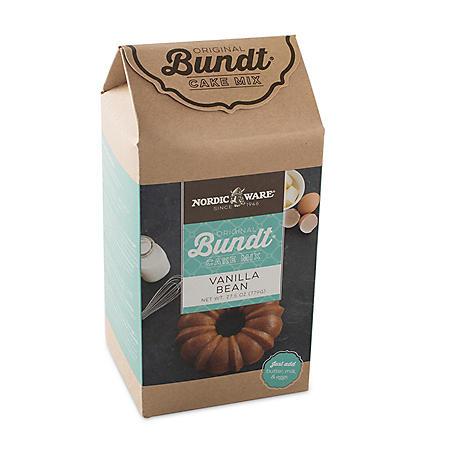 Nordic Ware Bavaria Bundt Pan Holiday Baking Set (Assorted Flavors)