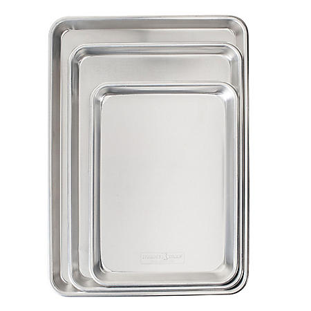 Nordic Ware Naturals 3-Piece Cookie Sheet Set