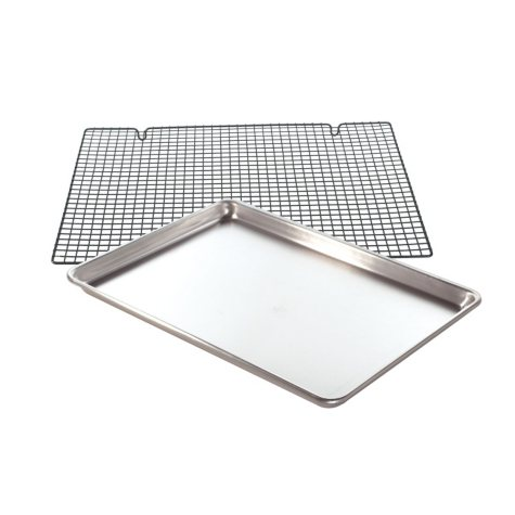 Nordic Ware Naturals Cookie Sheet with Cooling Rack Set