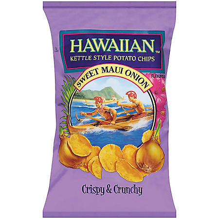 Hawaiian Sweet Maui Onion Kettle Style Potato Chips (32oz.)