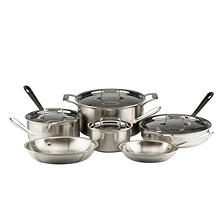 All-Clad Stainless Steel 10-Piece Cook Set
