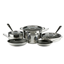 All-Clad Nontick Stainless Steel 10-Piece Cook Set