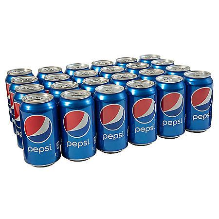 Pepsi (12 oz. cans, 24 ct.)
