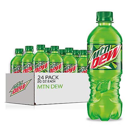 Mountain Dew (20oz / 24pk)