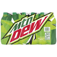 Mountain Dew (24 oz. bottles, 24 pk.)