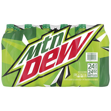 Mountain Dew Soda (24 oz. bottles, 24 ct.)