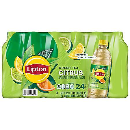 Lipton Green Tea with Citrus (16.9 fl. oz. bottles, 24 pk.)