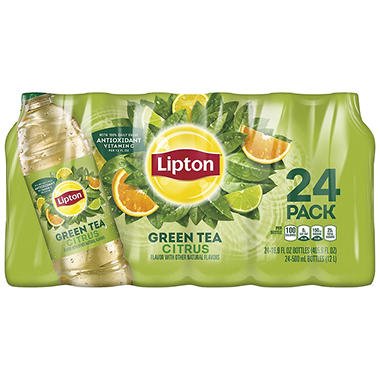 Lipton® Green Tea with Citrus - 24/16.9oz bottles