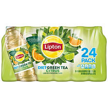 Lipton Diet Green Tea with Citrus ( 16.9 oz. bottles, 24 pk.)