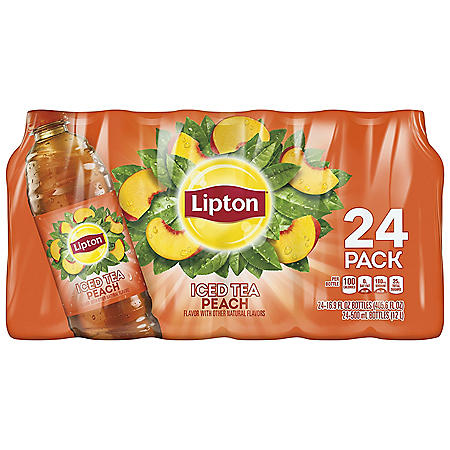 Lipton Peach Iced tea (16.9oz / 24pk)