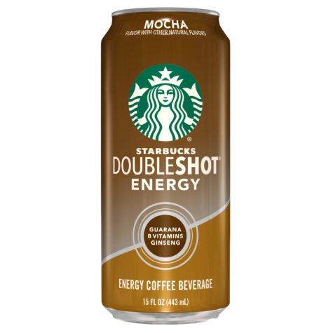 Starbucks DoubleShot Energy Mocha (15 oz., 12 pk.)