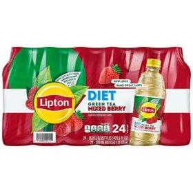Lipton Diet Green Iced tea with Mixed Berry (16.9 oz., 24 pk)