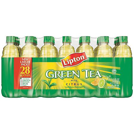 Lipton Green Tea w/ Citrus Flavor - 16.9 oz. - 28 pk.
