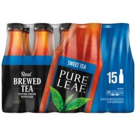 Pure Leaf Sweet Iced Tea (18.5 oz. bottles, 15 pk.)