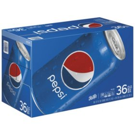 Pepsi Cola (12 oz. cans, 36 ct.)